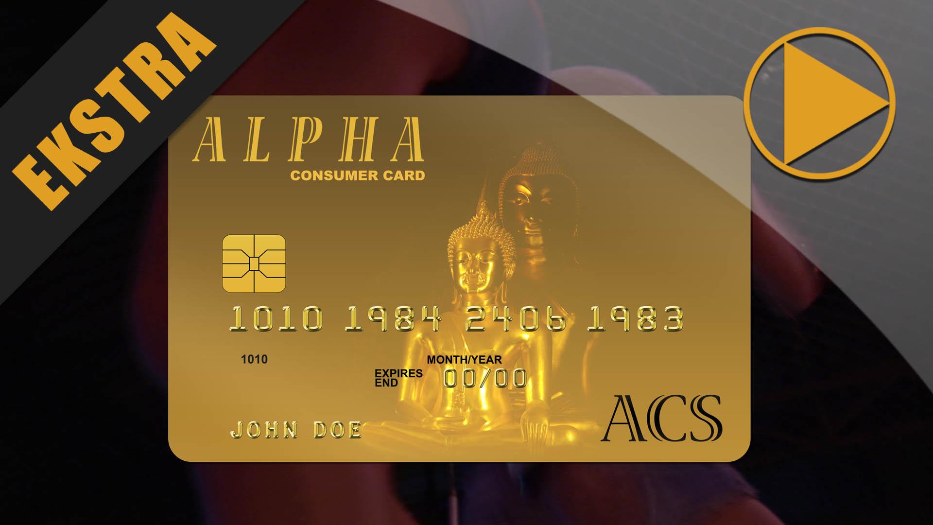 Alpha Consumer Card #1